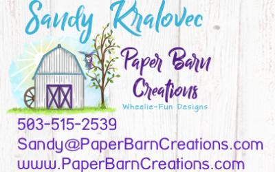 Spotlight Chick Sandy Kralovec Paper Barn Creations