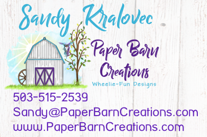 Spotlight Chick Sandy Kralovec Paper Barn Creations